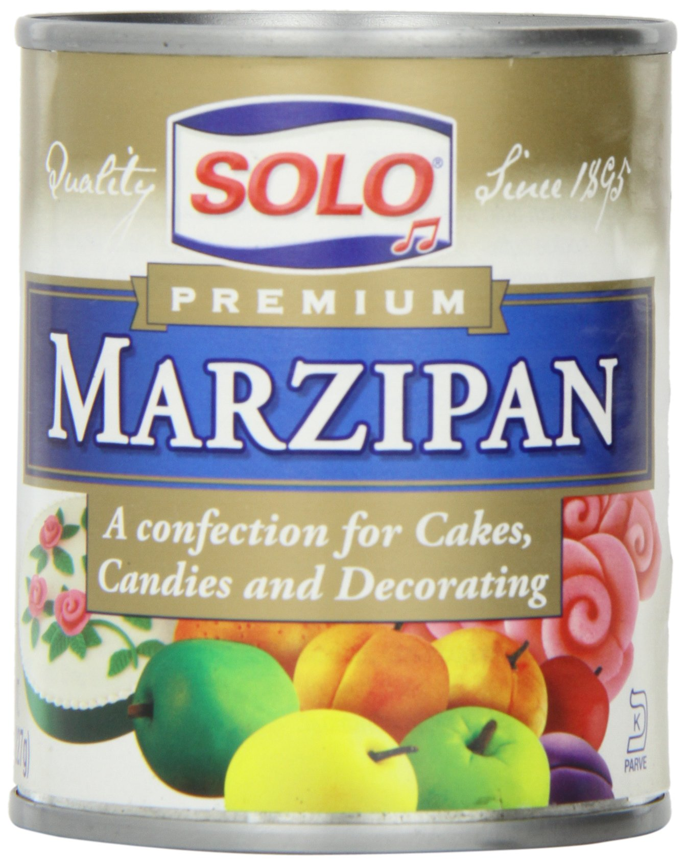 Solo Marzipan, 8-Ounce Unit (Pack of 6)