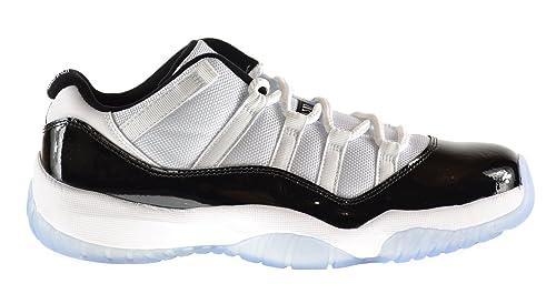 the best attitude 25898 4cf87 Image Unavailable. Image not available for. Colour  Jordan Air 11 Retro Low  Men s Shoes White Black-Dark Concord 528895-153