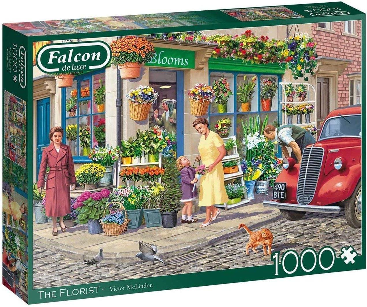 Falcon The Florist 1000 Piece Jigsaw Puzzle