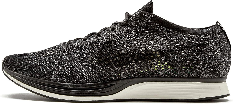 sangre Relacionado periscopio  Nike Flyknit Racer 'Blackout' - 526628-005 - Size 7.5 -: Amazon.co.uk:  Shoes & Bags