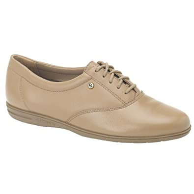 a783b6f6b2 Easy Spirit Motion Womens Lace Up Shoes Wide Width Wheat Leather 7.5 W