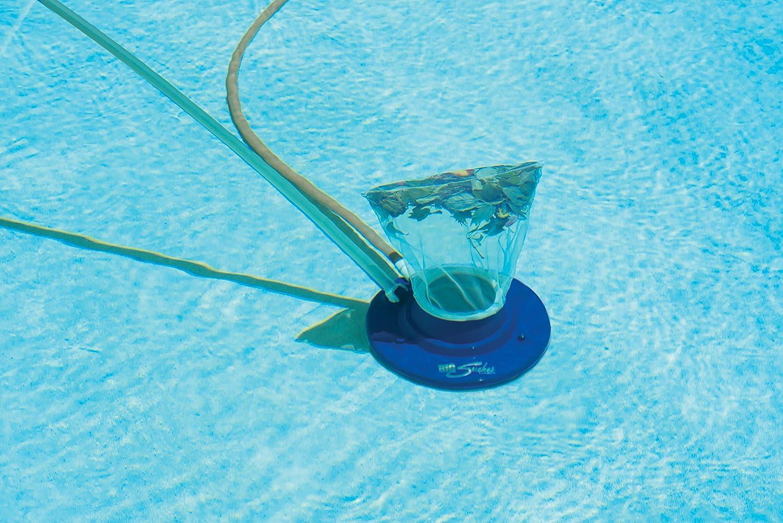 Poolmaster 28300 Big Sucker Swimming Pool Leaf Vacuum Blue Swimming Pool Handheld Vacuums Garden Outdoor