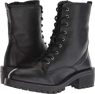 ad9056a4c06 Steve Madden Women s Mitsu Black Leather 6 ...