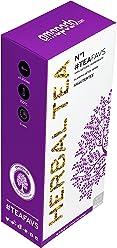 amapodo Tisana - 100% naturale miscela di tè alle erbe, tè verde, foglie di menta piperita, trifoglio - Made in Germany - Trattamento detox Body Fit Tea - vegan