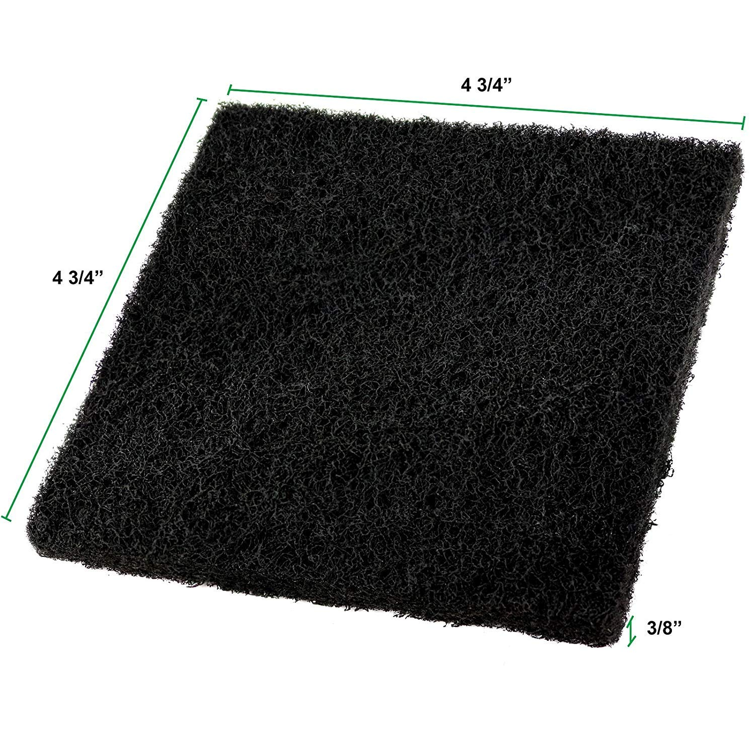 Set of 8 4 Round and 4 Square 0146B Estilo Compost Pail Filters