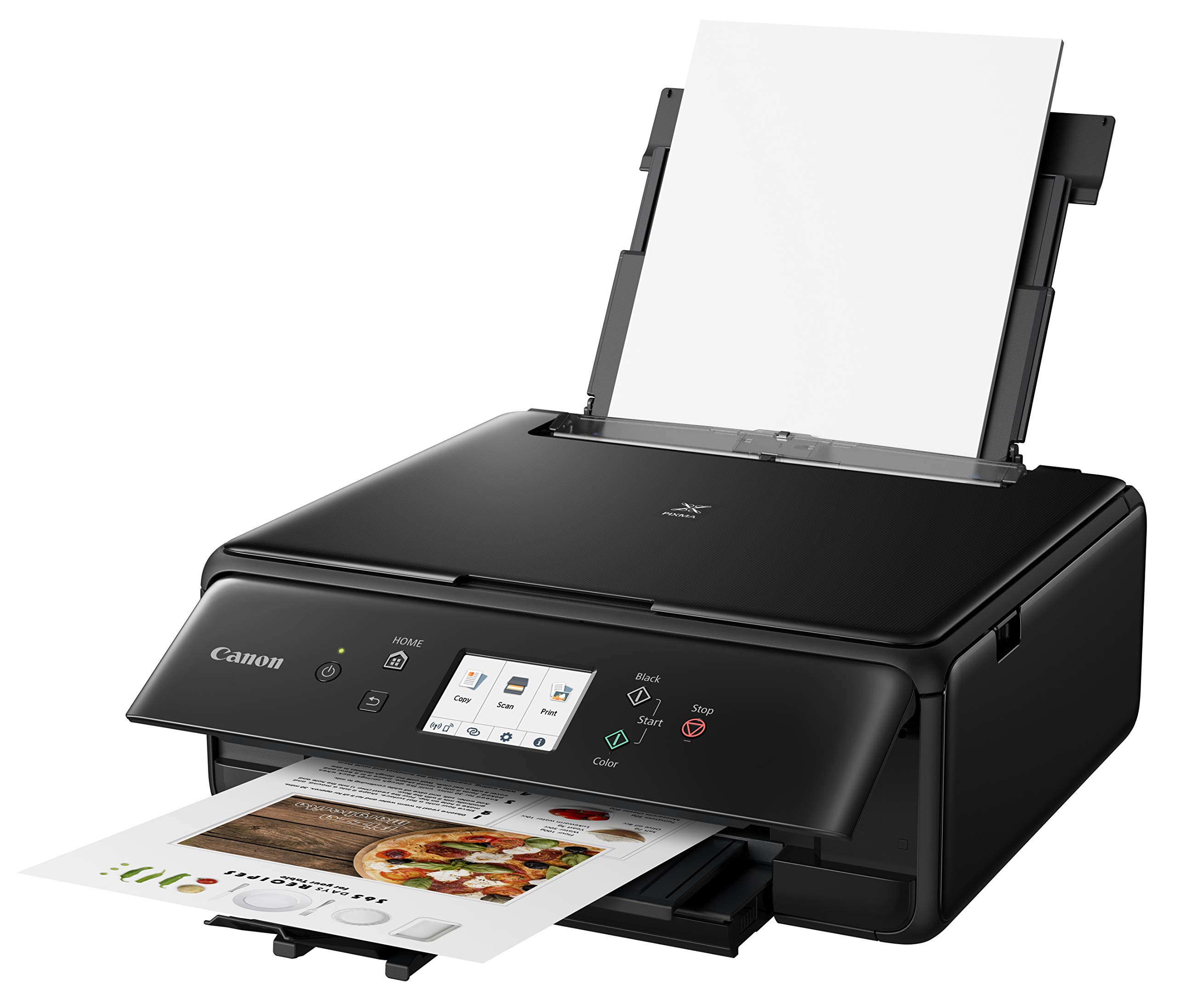 Canon 2986C002 PIXMA TS6220 Wireless All in One Photo Printer with Copier, Scanner and Mobile Printing, Black by Canon (Image #3)