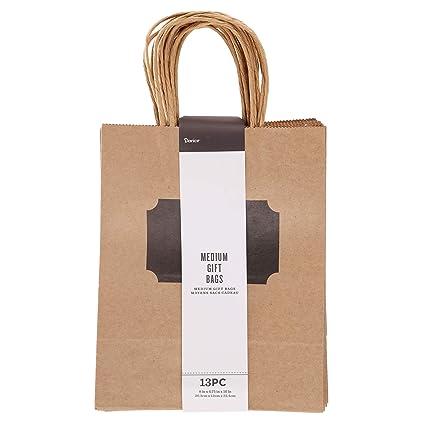 Amazon.com: Darice 30071354 - Bolsa de regalo (tamaño ...