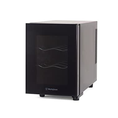 Westinghouse WWT060MB Thermal Electric 6 Bottle Wine Cellar, Black