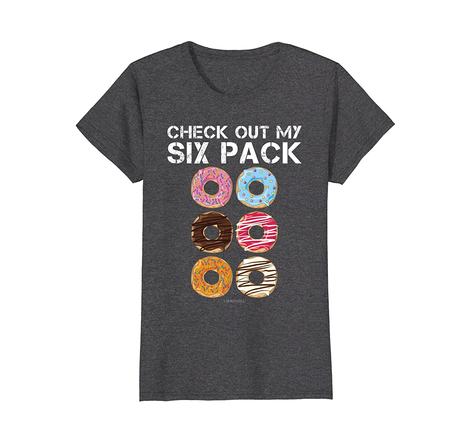 Check Out My Six Pack Donut Shirt – Funny Gym Shirts-Awarplus