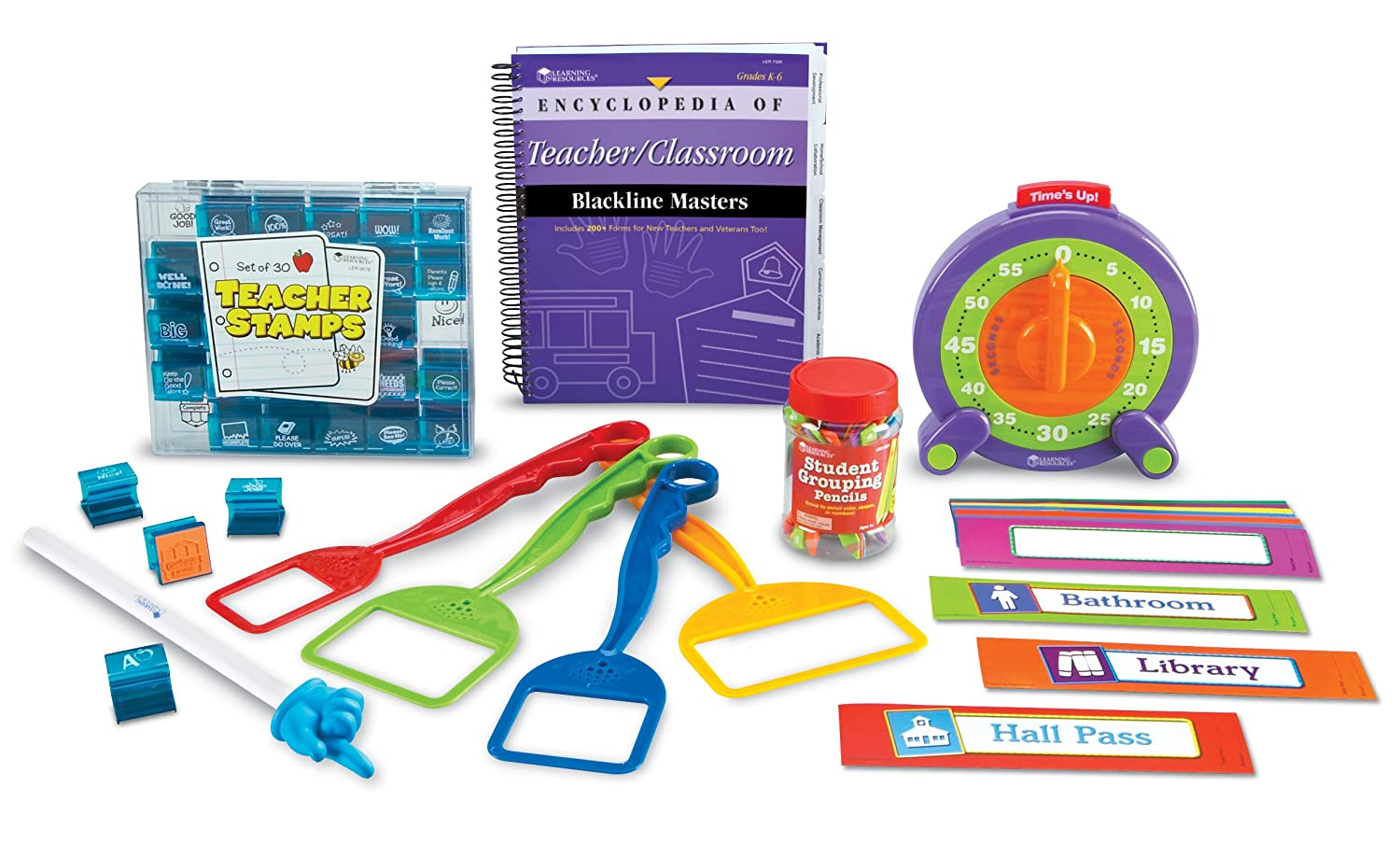 Amazon com : Learning Resources Classroom Essentials Kit