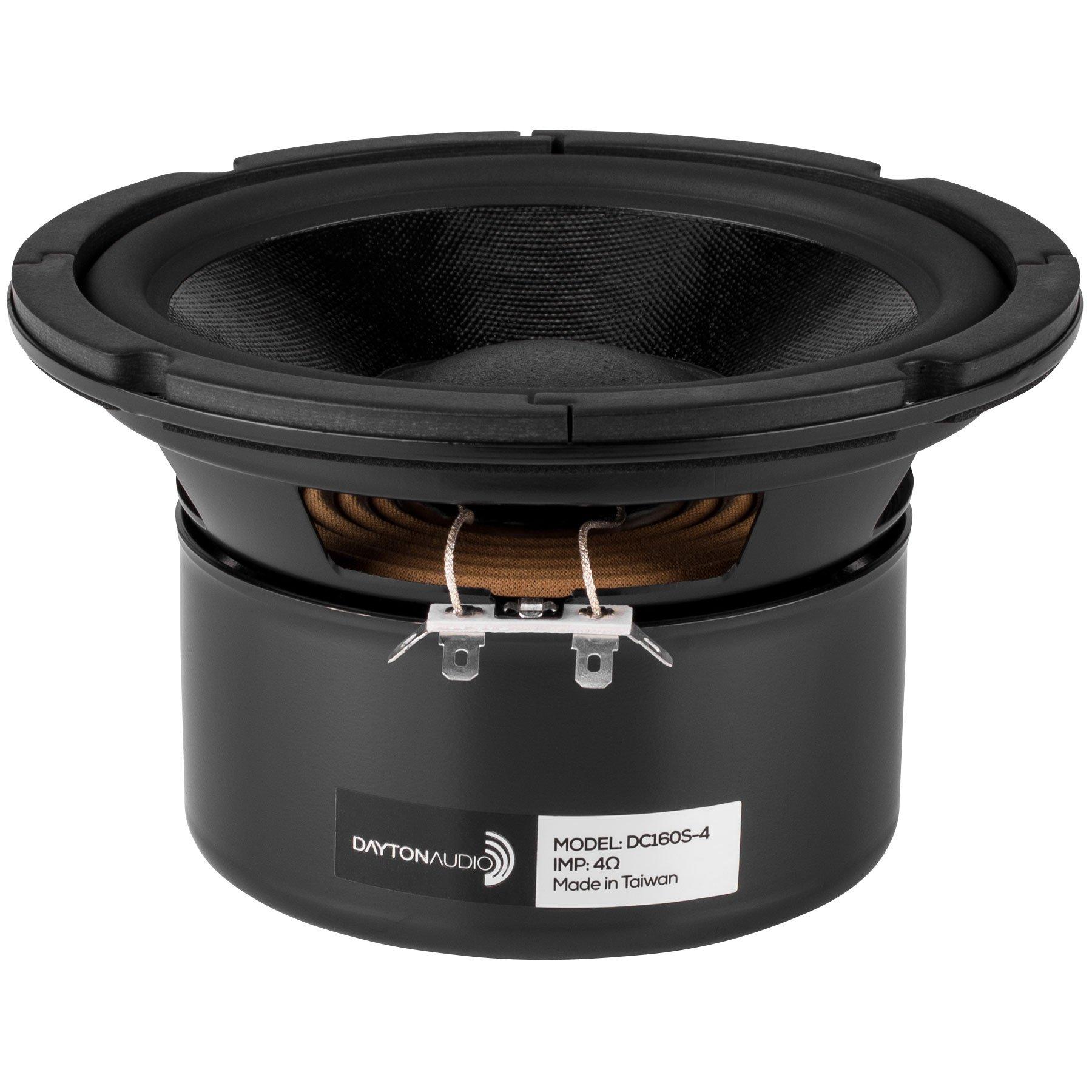 Dayton Audio DC160S-4 6-1/2 Classic Shielded Woofer 4 Ohm