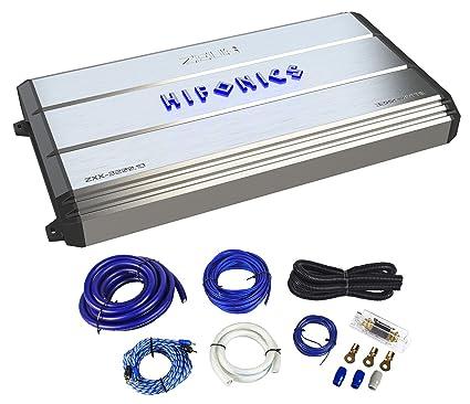 Hifonics Zeus ZXX-3200.1D 3200 Watt RMS Mono Class D Car Audio Amplifier+