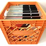 33rpm 33 LP Vinyl Album Organizers//Organization//Organizational 15-Pack Record Dividers Professional White Write-On Index 12-inch 12-in. 33rpm 33s