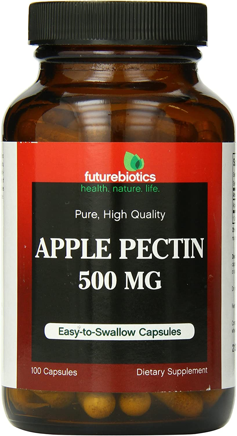 Futurebiotics Apple Pectin 500 mg, 100 Capsules