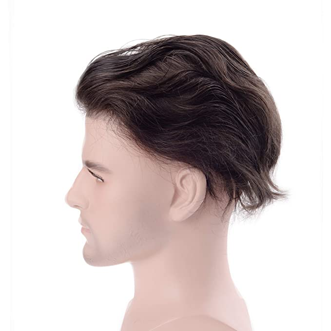 lordhair Cabello humano Stock Mens Hair Pieces