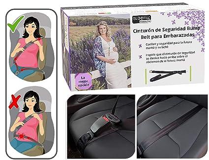 Adaptador del Cinturón de Seguridad para Embarazada en el Coche. Sistema de Fijación Homologado.