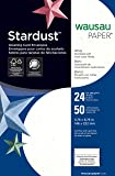 Wausau Stardust  Fine Business Stationery A9 Envelope, 5.75 X 8.75 Inches, White, 50 Count (20310)