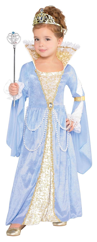 Costumes USA APPAREL ガールズ US サイズ: S カラー: ブルー   B071JSKP3R