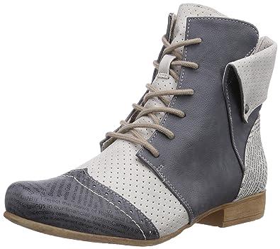 998396dc476b Rieker Damen 97017 Women Classics Kurzschaft Stiefel, Blau (Jeans Ice   14)
