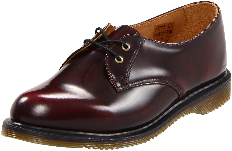 Amazon.com | Dr. Martens Women's Brook Shoe-Gibson, Burgundy, 8 UK (10 M US  Women's) | Oxfords