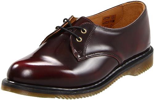Dr. Martens BROOK 2 Eye Shoe BURGUNDY 14035601 - Zapatos de cuero para mujer: Amazon.es: Zapatos y complementos