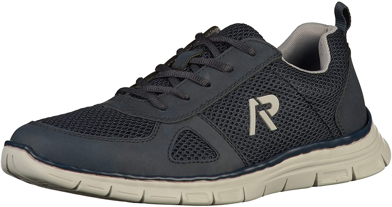 Rieker Herren B4812 Sneaker  40 EU|Blau (Navy/Pazifik/Grey 14)