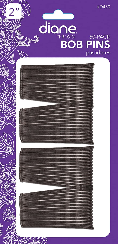 Diane D450 – Horquillas (, Negro, 60 unidades/tarjeta, 12 unidades (Pack de 6): Amazon.es: Salud y cuidado personal