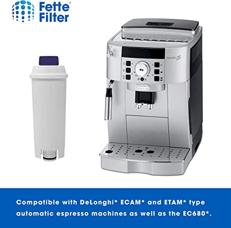 Filtro de café compatible con Delonghi DLS C002, paquete de 4 ...