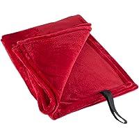 DII Fleece Fuzzy Soft Microfiber Throw Blanket Travelling