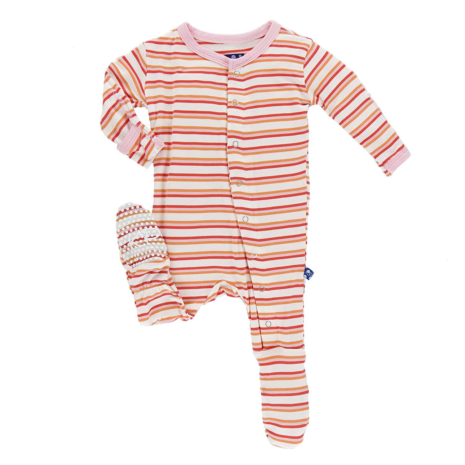 正規 KicKee Pants SLEEPWEAR ベビーガールズ B06XS6V6ZK Fresh Water SLEEPWEAR Months|Fresh Stripe B06XS6V6ZK 0 - 3 Months 0 - 3 Months|Fresh Water Stripe, JUNCTION PRODUCE 公式:f66abe1c --- svecha37.ru