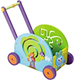 Boikido Wooden Push And Play - Rabbit Wagon