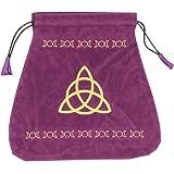 Triple Goddess Velvet Tarot Bag (Bolsas de Lo Scarabeo Tarot Bags From Lo Scarabeo)