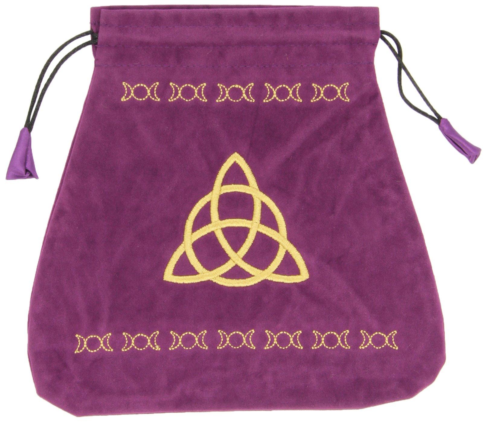 Triple Goddess Velvet Tarot Bag Bolsas de Lo Scarabeo Tarot ...