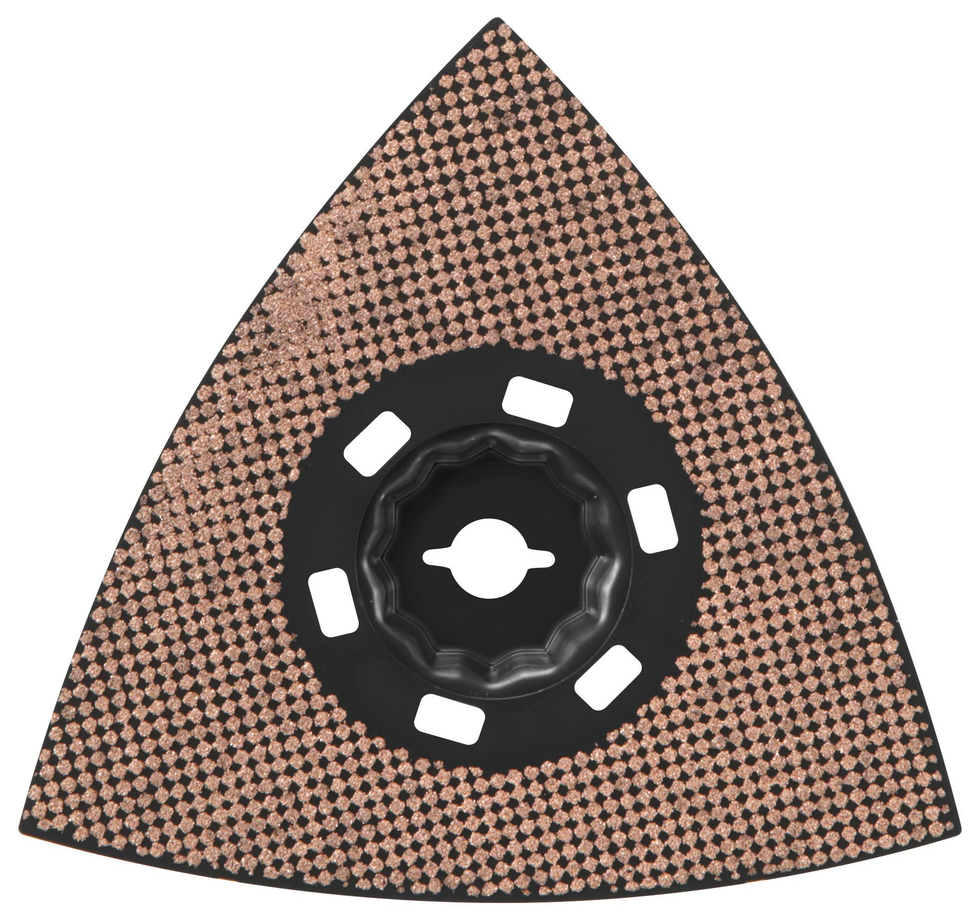 Bosch OSM450CR10 StarlockMax Oscillating Multi-Tool Carbide 100 Grit Delta Sanding Pad