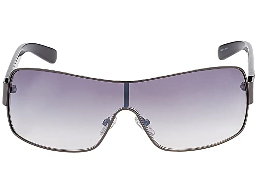 03a58dbc88b8 Image Unavailable. Image not available for. Color  GUESS Factory Men s  Mixed Shield Sunglasses