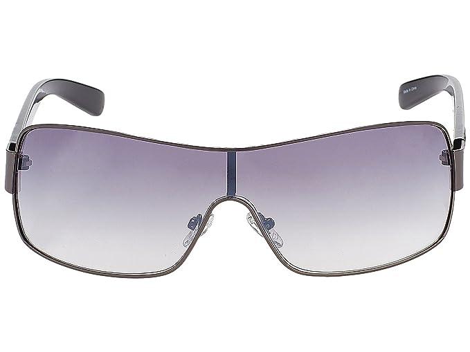 54777f8364 Guess Men's GF6594-0006B Sunglasses, Silver (Niquel), 0: Amazon.co ...