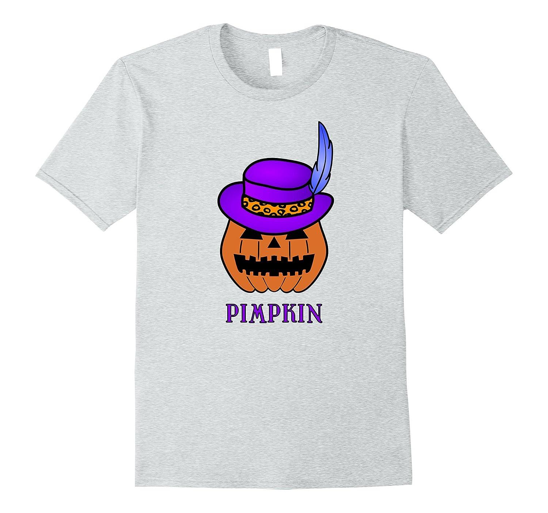 Mens Pimpkin, a Halloween Pimp T-Shirt-FL
