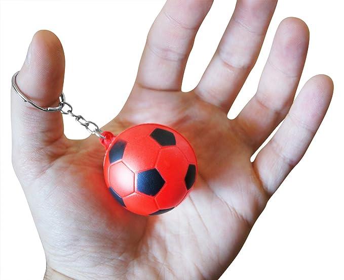 Amazon.com: Novela Merk Rojo de 12 Pack Balón de fútbol ...