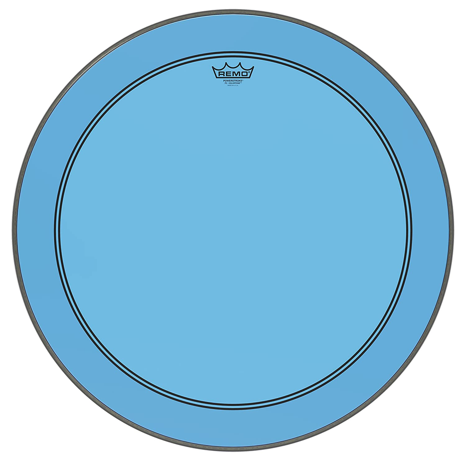 Remo KS161400 Black Max Marching 14-Inch Snare Batter Drum Head with Underlay