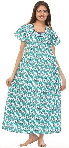 creativegifts algodón caftán bordado de cachemira Maxi vestido largo para mujer + búho pendientes: Amazon.es: Hogar