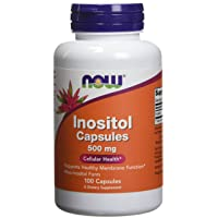 Inositol 500mg 100 Capsules (Pack of 2)