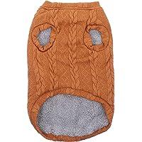 Balacoo Pet Knitted Sweater Plush Warm Chaleco Abrigo Otoño Invierno Ropa de Abrigo Prendas de Vestir Prendas de Vestir…