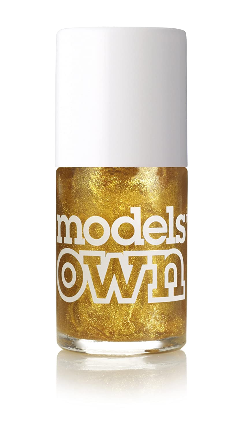 Models Own Gold Rush Nail Polish 14ml: Amazon.co.uk: Beauty