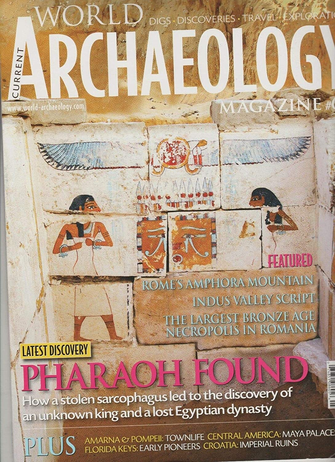 CURRENT WORLD ARCHAEOLOGY MAGAZINE #64 APRIL/MAY 2013.