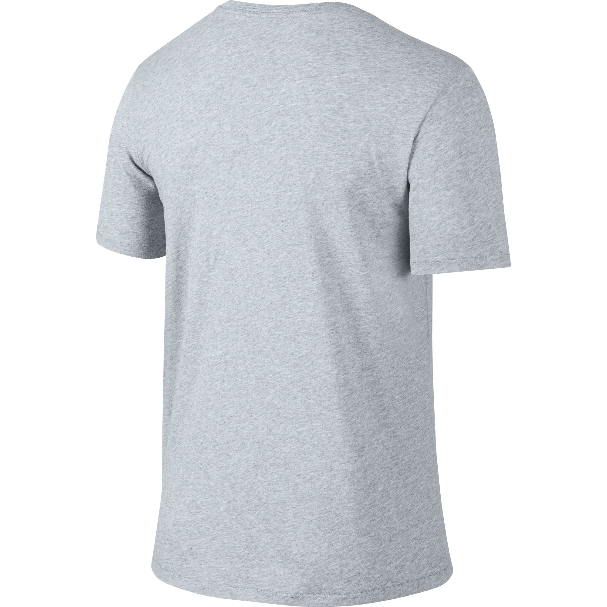 NIKE Men's Dri-FIT Cotton 2.0 Tee, Birch Heather/Birch Heather/Black, Small by Nike (Image #2)