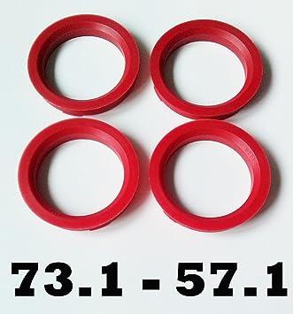 Kit 4 Anelli Di Centraggio Da 74,1 mm A 63,4 mm Per Cerchi In Lega Ruote