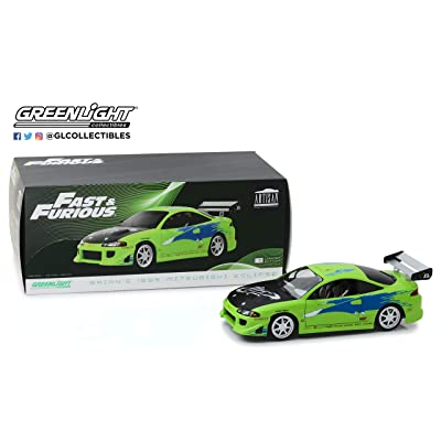 Greenlight 19039 1: 18 Artisan Collection - The Fast & The Furious (2001) - 1995 Mitsubishi Eclipse - New Tooling: Toys & Games
