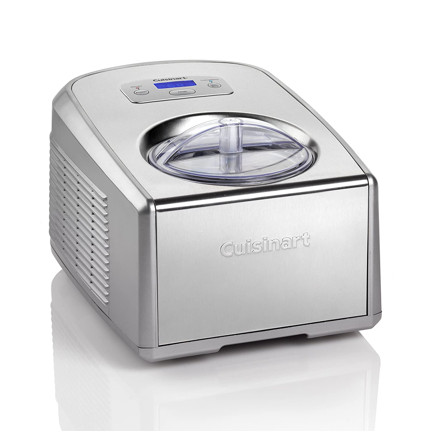 Cuisinart Gelato and Ice Cream Maker - Silver ICE100BCU