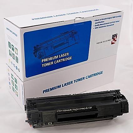 TTP marca Compatible Canon 137/9435B001 negro Laser cartucho de ...