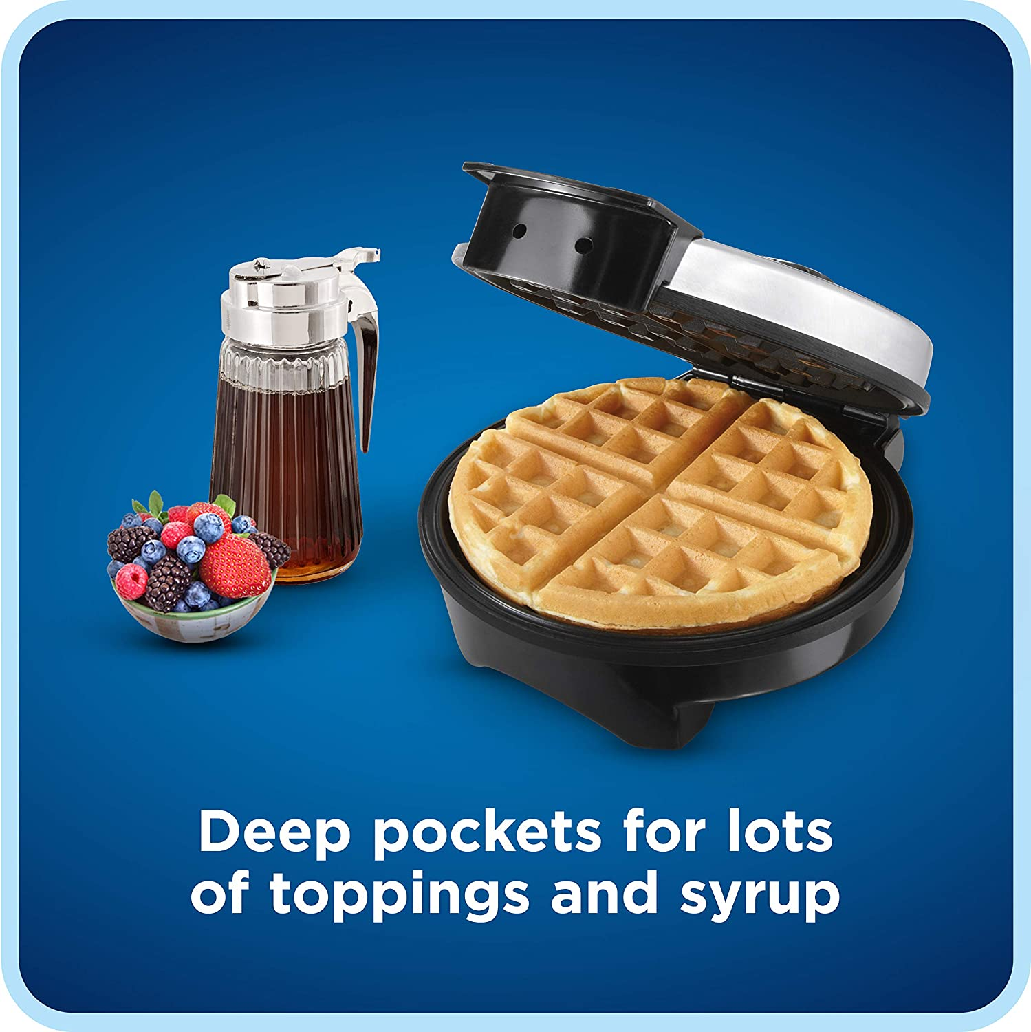 Oster Belgian Waffle Maker, Stainless Steel (CKSTWF2000): Electric Waffle Irons: Kitchen & Dining